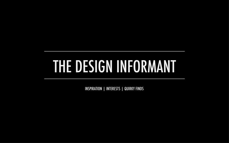 The Design Informant Sydney Australia