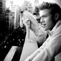 Marilyn Monroe + James Dean
