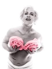 Bert_Stern___Marilyn_in_Pink_Roses_(date),_2014