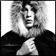David_Bailey___Mick_Jagger_Fur_Hood_(1964),_2014
