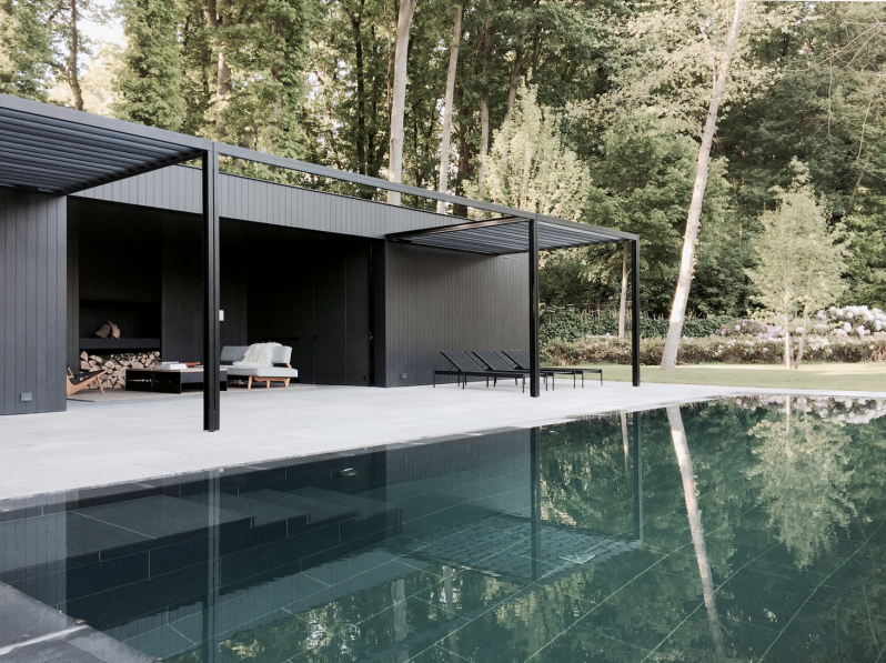 CD Poolhouse by Merckx Interiors