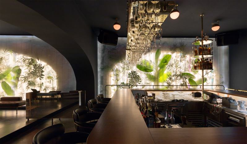 100 Nightclub, Autori, The Design Informant
